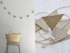Love this look! Could use it anywhere for pretty much any occasion. Recycled paper, linen twine.