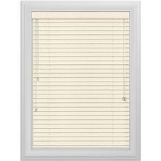 Bali Essentials 2 inch Wood Blind, Corded, Winter, White