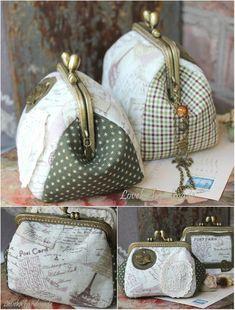 "Loveka Handmade: ""Вам открытка из Парижа!..""/ Paris bags"