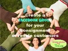 Continue the conversation with your consignment customers with a Facebook page! Best advice from Auntie Kate, the Resale Guru