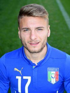 Ciro Immobile maglia numero 17 dell'Italia ai Mondiali 2014