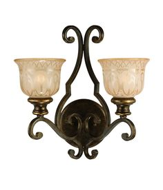 View the Crystorama Lighting Group 7402 Norwalk 2 Light Double Wall Sconce at LightingDirect.com.