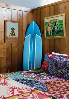 More from Chandelier Surf Shack, Montauk  **Love the doggy pictures, too!