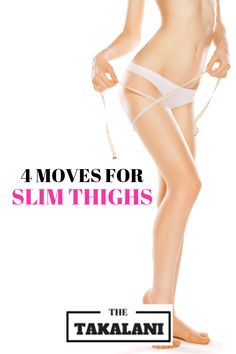 Weight Loss, 4 Moves for Slim Thighs - The lower body is a trouble spot for most women. The good news is that we can burn the excessive fat that is stored in our thighs with the right toning exercises. Six Pack Abs Workout, Abs Workout Routines, Workout Fitness, Tummy Workout, Yoga Workouts, Fat Workout, Fitness Motivation, Weight Loss Tablets, Slim Thighs