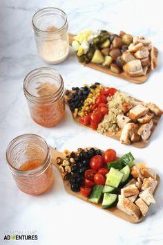 Simple Lunch Hacks | 3 Totally Simple Mason Jar Chicken Salad Recipes