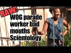 (422) RAW: WOG working on Scientology property expresses distaste for said religion - YouTube