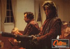 Critters - Lobby card with Jeremy Lawrence & Terrence Mann
