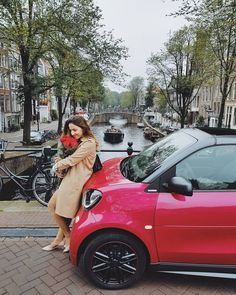 So much fun today. Definitely a day to remember. We explored Amsterdam with a pink smart electric drive and took hundreds of pictures. A Day To Remember, Girl Photography, Are You The One, Amsterdam, Battle, Electric, Pink, Pictures, Instagram