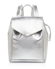 Loeffler Randall Mini Metallic Backpack
