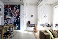 Un loft vintage e industrial | Decorar tu casa es facilisimo.com