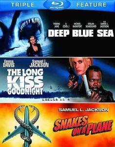 DEEP BLUE SEA/LONG KISS GOODNIGHT/SNAKE ON A PLANE
