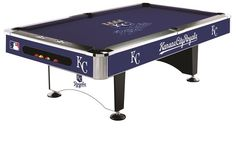 Use this Exclusive coupon code: PINFIVE to receive an additional 5% off the Kansas City Royals MLB 8 Foot Logo Pool Table at sportsfansplus.com