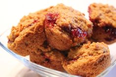 Ambition's Kitchen: PEANUT BUTTER & JELLY MUFFINS (WITH CARROT PUREE) from Jessica seinfeld's deceptively delicious