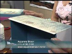 ▶ Mulher.com 03/08/2012 Marisa Magalhães - Caixa com Scrapdecor 01 - YouTube