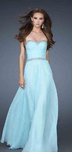 Fashion Chiffon White Long Sleeveless Sweetheart Evening Dress In Stock lkxdresses16889cgh #longdress #promdress
