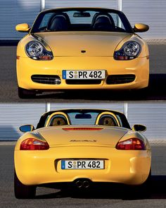 1999-2003 PORSCHE 986 BOXSTER S .. 3.2 L 252hp w/ top speed of 162mph compared to the base Boxster with 220hp and a top speed of 155mph. Yes there's sub- stantial price difference in between but the S is about performance and if performance really doesn't matter to you stick to the base Boxster. If you decide to upgrade a base Box- ster yourself into S performance le- vels later it would cost you at least 3 times more than the original price difference.