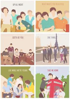 One Direction covers