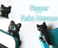Tutorial: Pepper DIY Neko Atsume Phone Charm - Polymer Clay