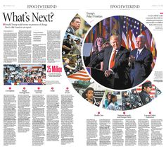 What's Next|Epoch Times #DonaldTrump #newspaper #editorialdesign