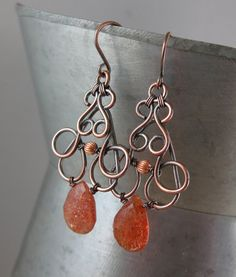 Copper+Wire+Jewelry | She does beautiful wire wrapping and fabulous designs.