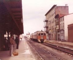 Two Reading Budd RDCs at Franklin Street Station in Reading in March Reading Pennsylvania, Reading Pa, Cities, Childhood, Bloom, History, Street, Places, Infancy