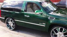 Cadillac Escalade Wheels and Tires & Cadillac Escalade Rims for Sale Custom Chevy Trucks, Suv Trucks, Mini Trucks, Custom Cars, Gmc Suv, Chevrolet Silverado, Cadilac Escalade, 2 Door Tahoe, Donk Cars