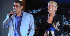 """Papo de Zeca Pagodinho e Xuxa rende momentos impagáveis: """"Globeleza não, agora eu sou Record beleza"""" http://r7.com/owv4"""