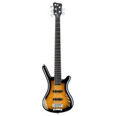 Featured Warwick Bass of the Day Warwick RockBass Corvette Classic 5-String Active Almond Burst
