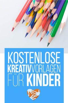 Kostenlose Kreativvorlagen für Kinder