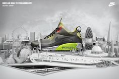 NIKE AIR MAX 90 Sneakerboots by Chris LaBrooy