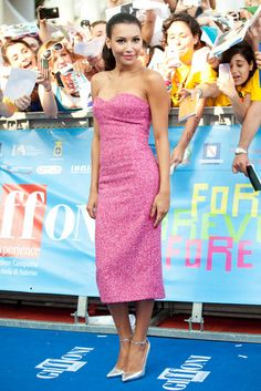 Naya Rivera arriving on the red carpet for the 2013 Giffoni Film Festival in Giffoni Valle Piana, Italy - July 24, 2013 - Photo: Runway Manhattan/Marco Provvisionato