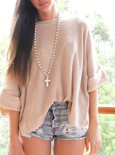 Who doesn't love a good oversized sweater?