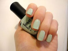 Love forever 21's mint nail polish!