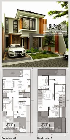 Modern House Floor Plans Canada Modern Home Design Plans – Rakeshrana Modern House Plans, Small House Plans, Modern House Design, House Floor Plans, House Elevation, House Layouts, Bungalows, Exterior Design, Future House