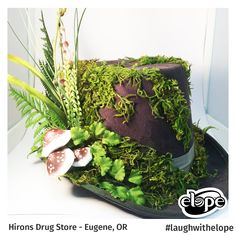 """""""Velvet Green: Woodland Moss"""" by Gage Shuler Hirons - Eugene, OR  Vote for this hat: http://woobox.com/27q2tb"""