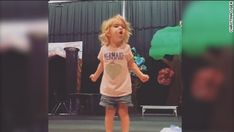 This video of Violet Ogea's passionate performance has been viewed more than 3 million times on Facebook since her mom Christina posted it on August 25, 2016.