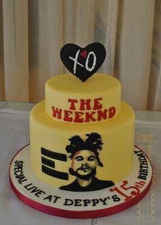 The Weeknd cake