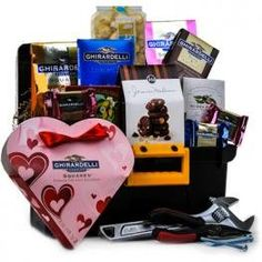 Toolbox of Chocolates for Him by GiftBasket Gift Basket