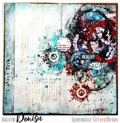 Denisa Gryczova: Really? Art Journal Pages, Art Journaling, Lime Citron, Art Journal Inspiration, Mixed Media Art, Inspiring Art, Inspirational, Scrap, Artsy
