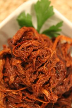 Pulled Pork Paleo Crockpot - Pretty good, I served it on top of paleo bread or sauteed onions