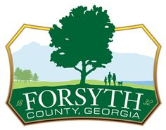 Forsyth County Logo.  County Website News