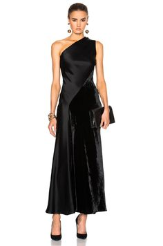 Image 1 of Stella McCartney Double Satin Dress in Black