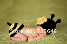 New Arrive Cute Ladybug Handmade Crochet Baby Hat And Shawl Online with $23.8/Piece on Sara001's Store | DHgate.com