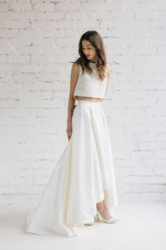 Two Piece Wedding Dr
