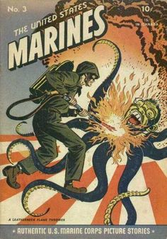 The United States Marines Authentic U.S. Marine Corps Picture Stories