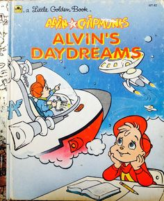 Hey, I found this really awesome Etsy listing at https://www.etsy.com/listing/214815240/alvin-and-the-chipmunks-alvins-daydreams