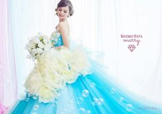いいね!963件、コメント3件 ― Kiyoko Hataさん(@kiyoko_hata)のInstagramアカウント: 「kiyokohata×marryコラボドレス✨ セカンドコレクション marry編集長 津崎春乃さん @haruno45 の可愛い世界でいっぱいです。 #芍薬#芍薬ドレス#marryドレス…」