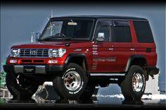 Toyota Landcruiser 70 Series custom. Japan http://prado-proshop.jp/specz.html#
