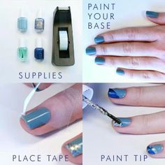 Easy Nail Art Step By Step Tutorial