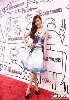 Tiffany @ the 1st YouTube Music Awards